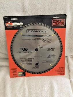 New Black & Decker 77-770 Piranha 10-Inch 60 Tooth Saw Blade