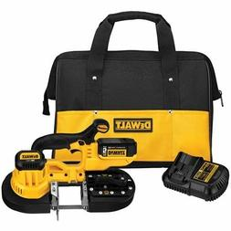 NEW DEWALT DCS371P1 20V MAX LITHIUM ION BAND SAW KIT