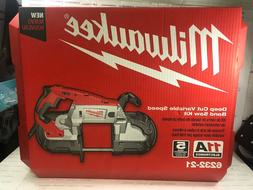 NEW Milwaukee Deep Cut Variable Speed Band Saw Kit 6232-21,