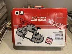 New In Box Milwaukee 6238 Corded Deep Cut Band Saw  W/ Case