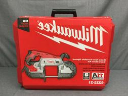 NEW, MILWAUKEE 6232-21 11A ELECTRIC CORDED DEEP CUT VARIABLE