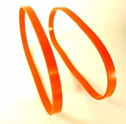"Set of 2 Orange Urethane Band Saw TIRES 1"" Wide By 14"" Diame"