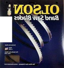 "PACK OF 2 BAND SAW BLADES Olson 93-1/2"" Blade 93-1/2"" Long x"