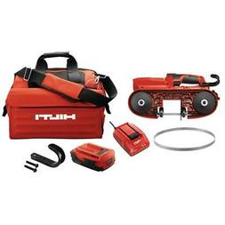 Hilti Portable Band Saw 22-Volt Cordless 2-Battery Charger B