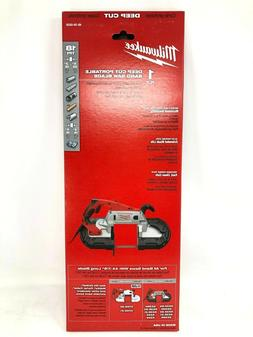 Milwaukee Portable Band Saw Blade Alloy Steel 18 TPI  Pack o
