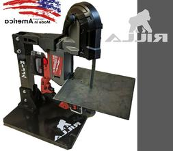 Rilla Portable Bandsaw Stand Table for 18V Milwaukee Battery