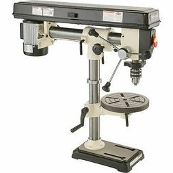 SHOP FOX Radial Benchtop Drill Press - 5-Speed 34in 1/2 HP 1