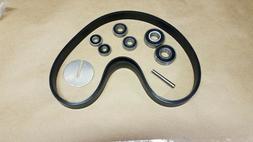 """Rebuild kit for Older Delta Rockwell 14"""" Bandsaws with REAR"""