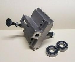 """Ridgid 14"""" Bandsaw Sliding Bracket Upper wheel guide part of"""
