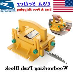 Safety Woodworking Push Block for Table Saws Router Tables B