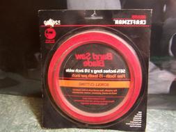 Sears Craftsman Band Saw Blade Scroll Cutting 9-26650 56-7/8