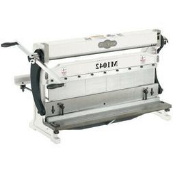 Shop Fox M1042 3-In-1 24-inch 22 Gauge Sheet Metal Machine