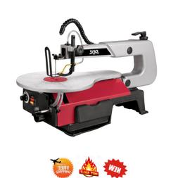 Skil 3335-07 1.2 Amp 16 in. Benchtop Scroll Saw with LED wor