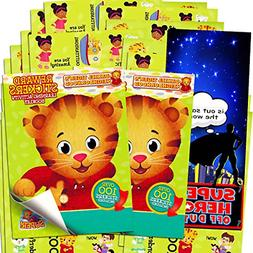 Daniel Tiger Stickers ~ Over 200 Reward Stickers  New
