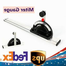 Aluminum Table Saw BandSaw Router Angle Miter Gauge Mitre Fe