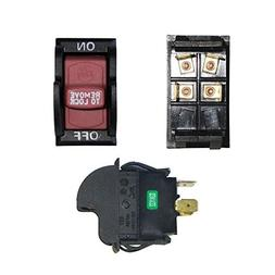 NEW TOGGLE SAFETY SWITCH W/KEY FOR DELTA 489105-00 TABLE SAW