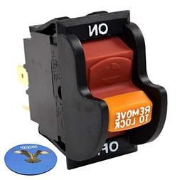 HQRP On-Off Toggle Switch for Delta 22-540 23-655 23-675 28-