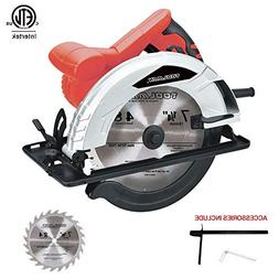 Toolman Circular Saw 7 1/4 inch with accessories included  L