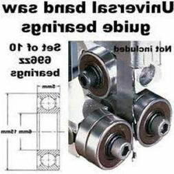 Universal Band Band Saw Accessories Saw Guide Bearings