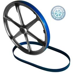 """2 BLUE MAX URETHANE BAND SAW TIRES FOR CENTRAL MACHINE 14"""" B"""