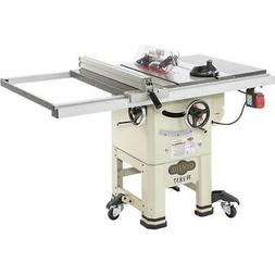 """Shop Fox W1837 10"""" 2 HP Open-Stand Hybrid Table Saw with Enc"""