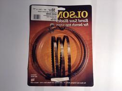 """Olson WB57259 Band Saw Blade For Bench Top Saws 59-1/2"""" x 3/"""