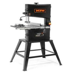 WEN 3.4-Amp 10-Inch Two-Speed Band Saw with Stand and Workli