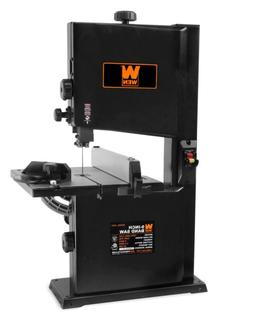 WEN 9-in 2.5-Amp Benchtop Stationary Workshop Band Saw Wood