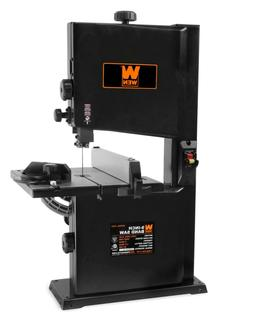 WEN 9-in 2.5-Amp Benchtop Stationary Band Saw Wood Workshop