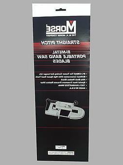 """MK Morse ZWEP3224W 32-7/8"""" x 24 tpi Bi-Metal Portable Band S"""